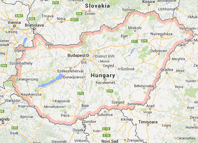 google maps hungary - Google Maps 2014-02-07 12-10-40