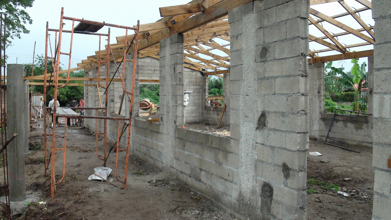 Port Vila Church Project as of 17 July, 2011