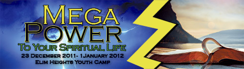 Mega Power Youth Convention Banner